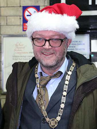 Hebden Royd Mayor, James Fearon