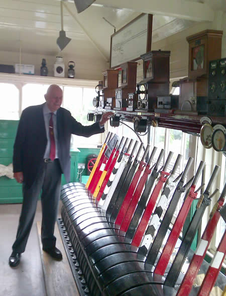 Inside Settle Signal Box