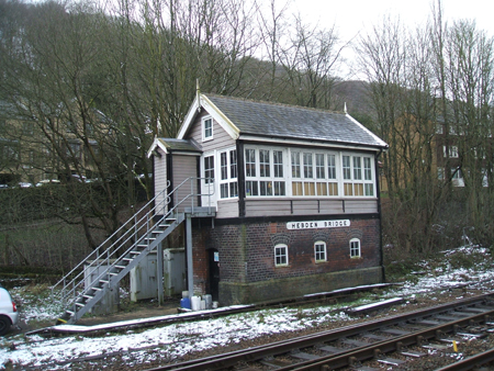 Hebden Bridge Signal Box